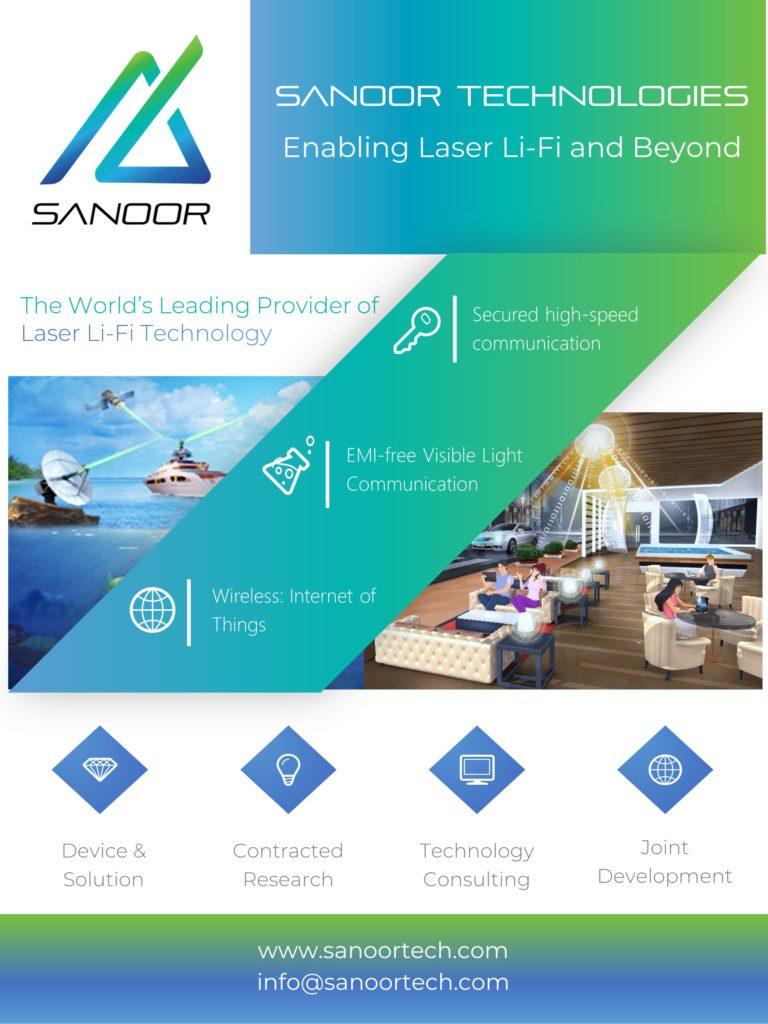 SaNoor Laser LiFi Technology